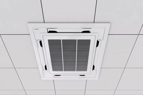 Ducted air Conditioning - Commercial Installation
