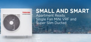 single fan mini VRF