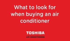 Toshiba Air Con